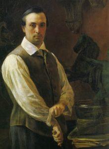 Барон Петр Карлович_Клодт-baron-peter Klodt Russian sculptor