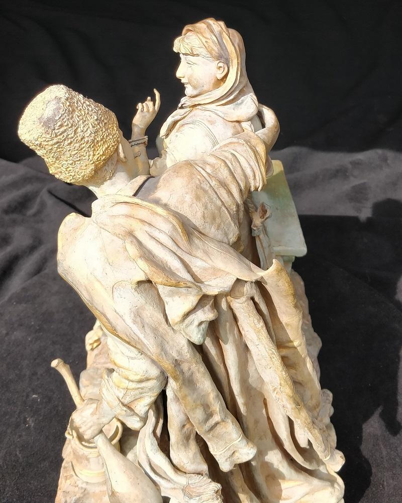 У колодца Василий Грачев бронза скульптура