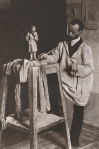 Russian artist Ilya Ginzburg sculptor biography
