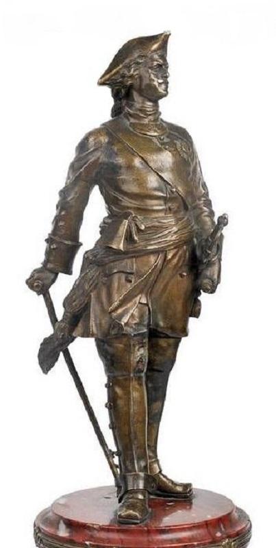 Mark-Antokolsky Peter The Great Russian sculptor-bronze-statue