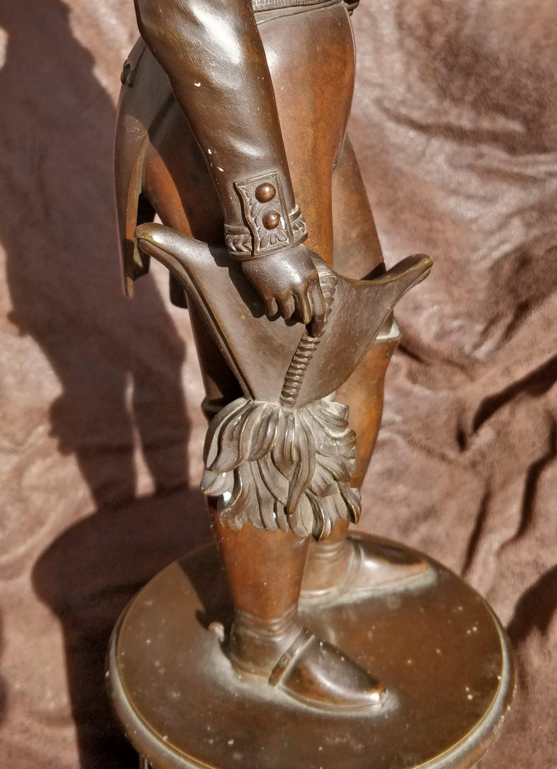 19 век бронза Николай Первый статуя-скульптура купить-не продажу
