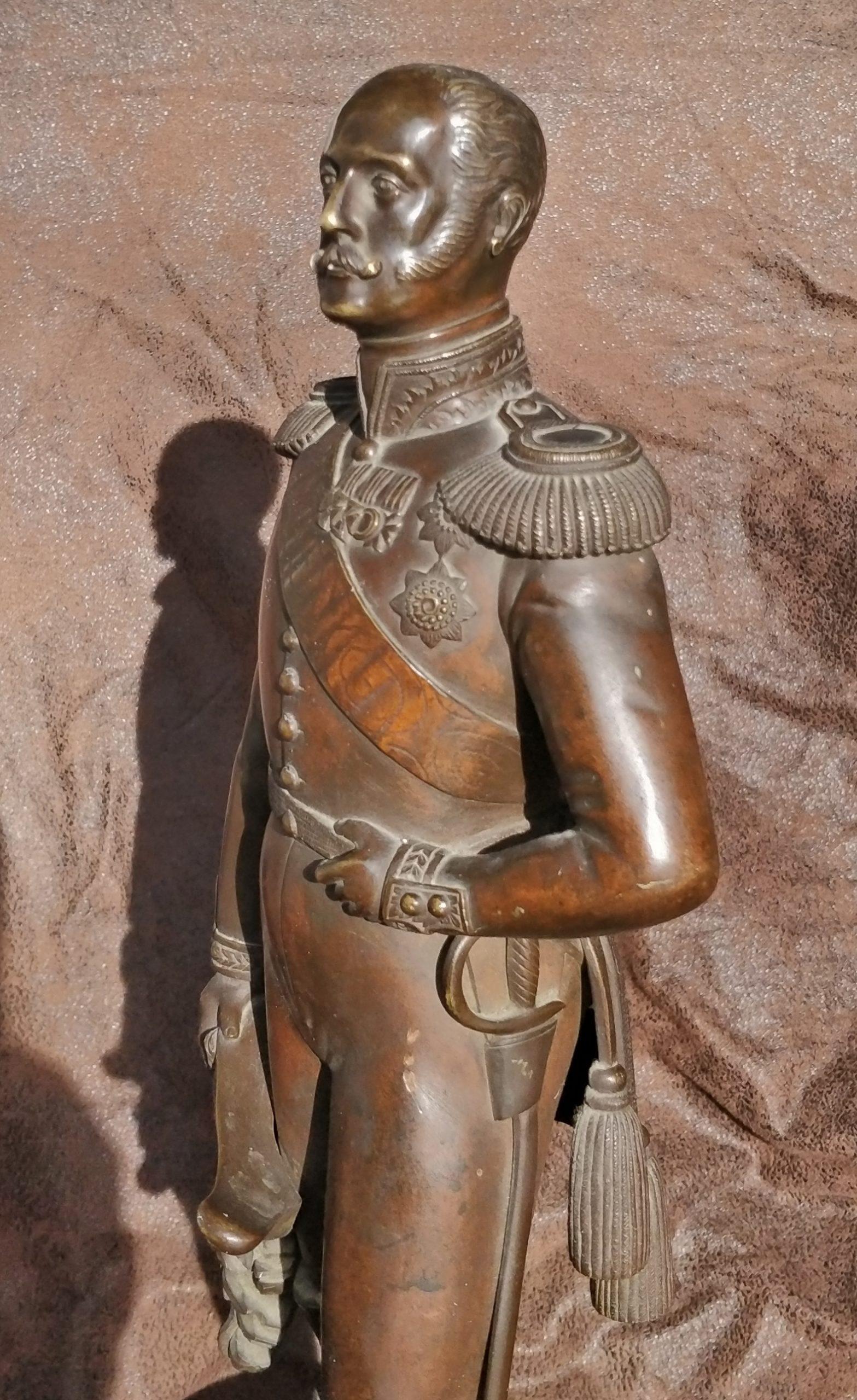 - Russian Tsar bronze Statue Николай первый бронза