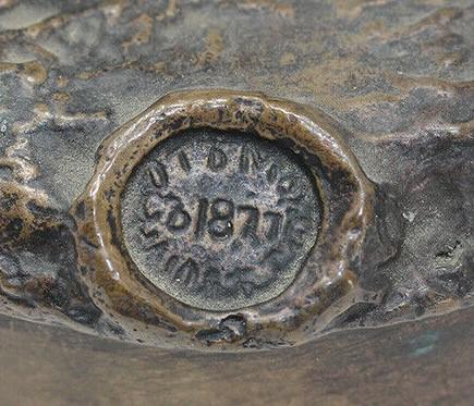 бронза печать министерства финансов верфель