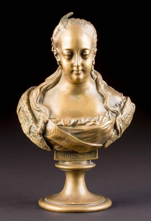 Chopins-bust-gallery - -Петровна-bronze-bust-