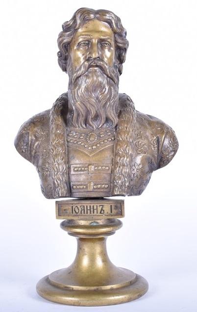 Chopins-bust-gallery - -Первый-бюст-бронза-Шопен