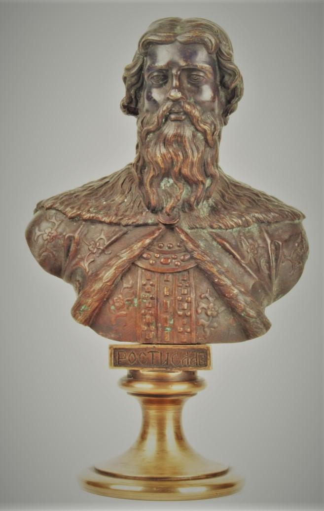 Chopins-bust-gallery - -Смоленский-Новгородский-Киевский-ростислав-бронза-бюст