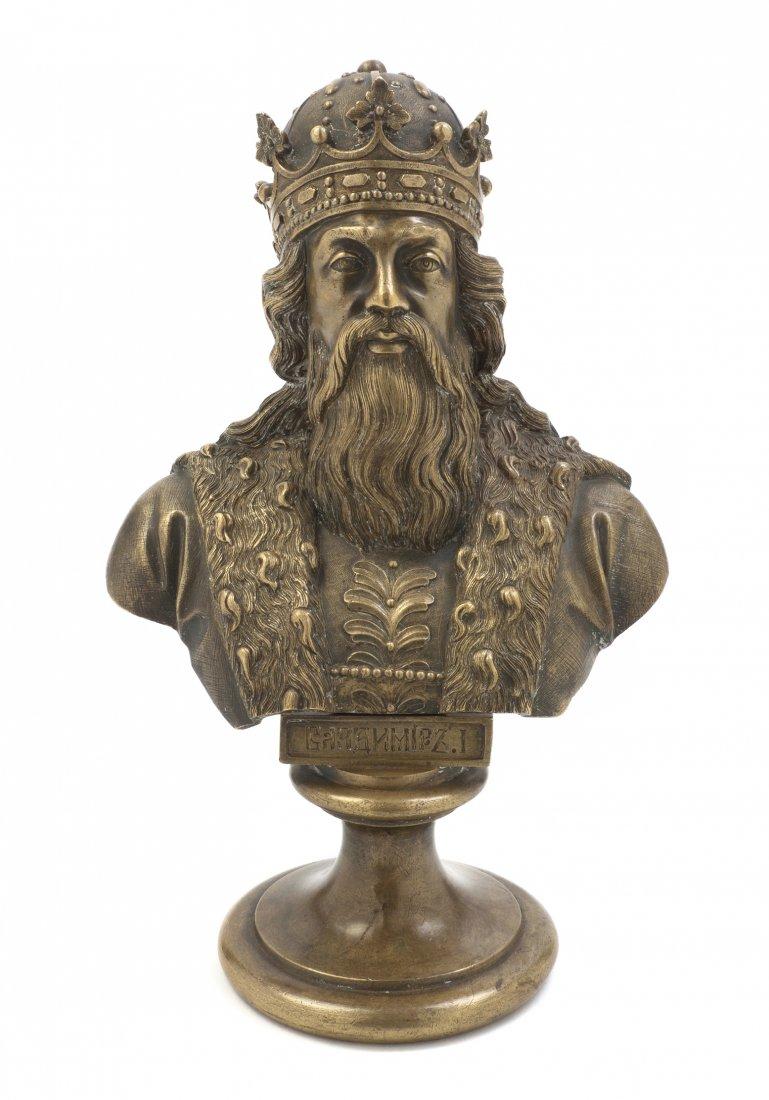 Chopins-bust-gallery - -царь-русь-бронза-шопен-бюст