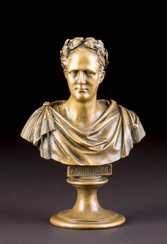 Chopins-bust-gallery - ALexander-Russia-bust-bronze-Chopin-foundry