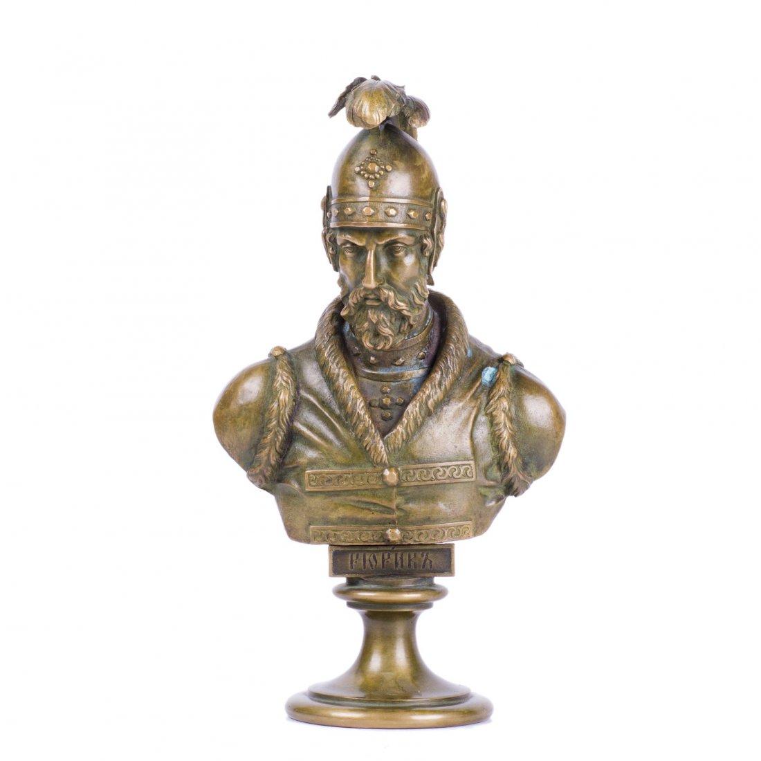 Chopins-bust-gallery - Rurik-bronze-bust-Shopen-chopin-Russian