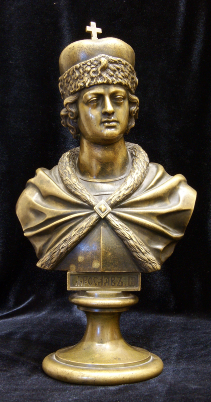 Chopins-bust-gallery - Yaroslav-bronze-bust-shopen-felix-russian