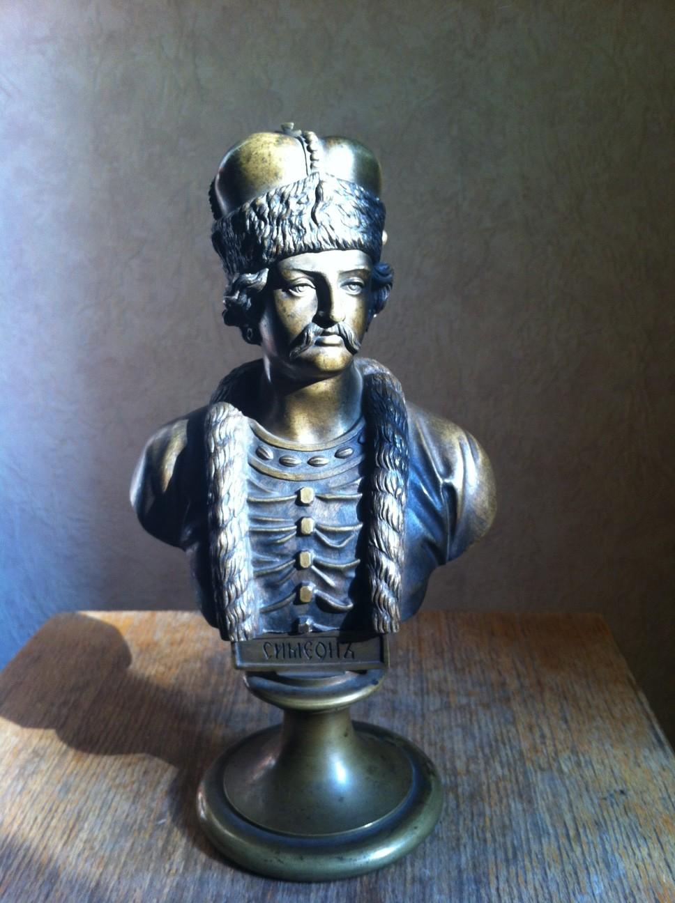 Chopins-bust-gallery - semeon-bronze-bust-Russian-Tsar