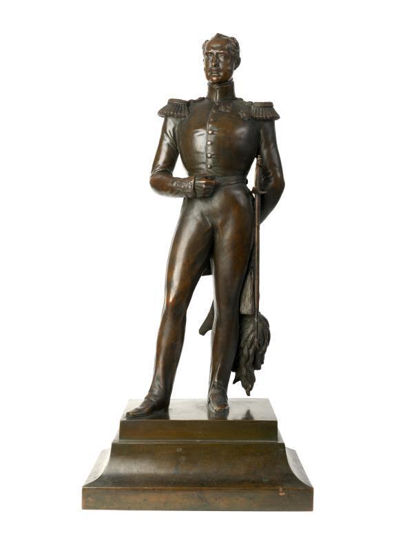Nikolay-Nicolas The First Russian Emperor bronze statue-sculpture