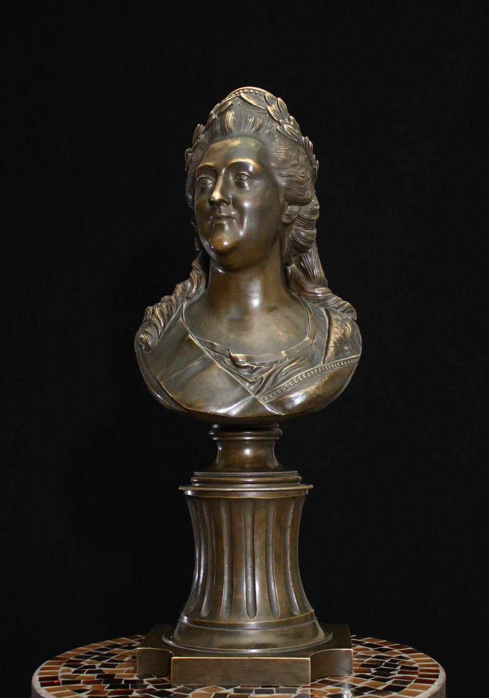 Others-unknown - Bust-Ekaterina-II-Russia-bronze