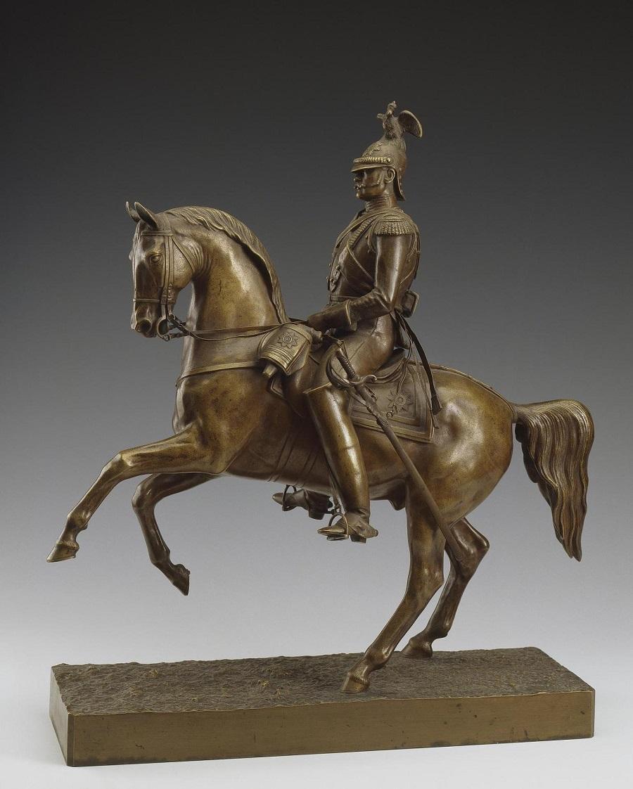 baron-peter-klodt - Peter-Klodt-brone-Nicolas-Nikolay-horseback