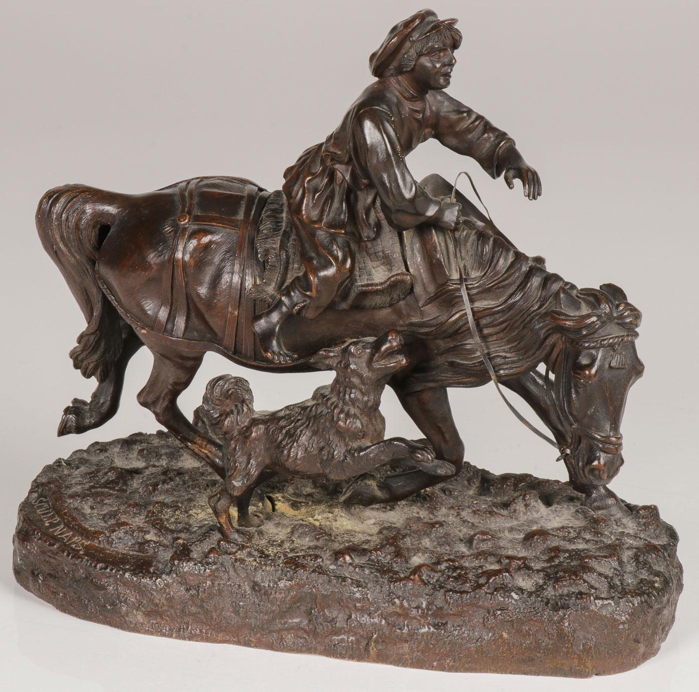 eugeny-naps - barefoot-boy-naps-russian-sculptore-bronze
