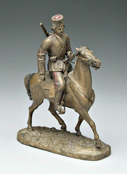eugeny-naps - kazak-cossack-eugeny-ivanovich-naps-russian-bronze-rider-1