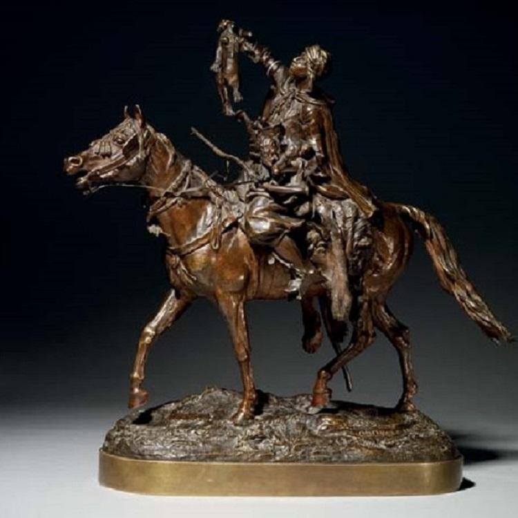 лансере араб с львятами бронза lion-cubs-arab-russian-bronze-lanceray