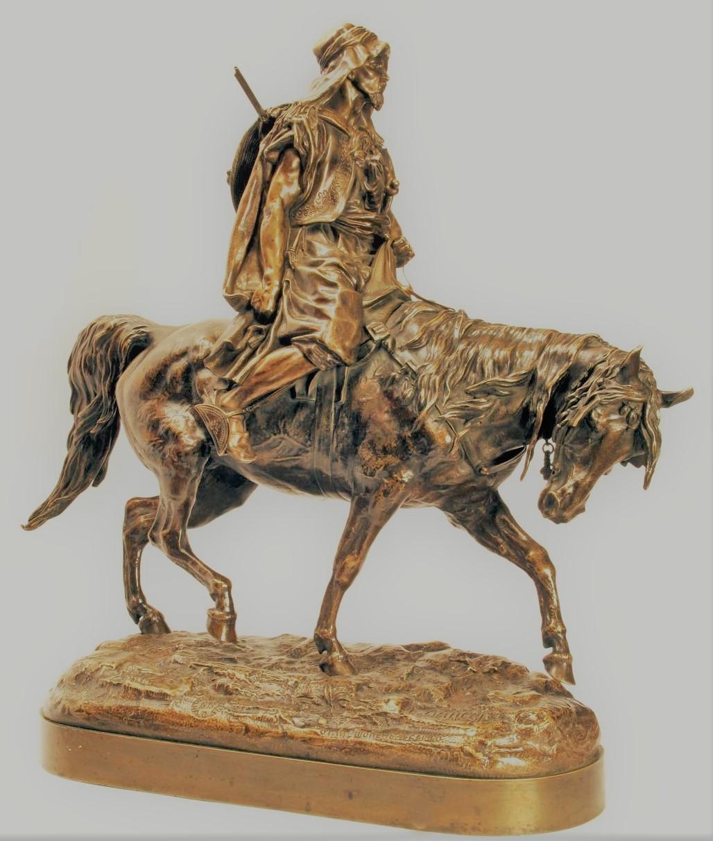 arab - russian_bronze_arab-horseback-rider