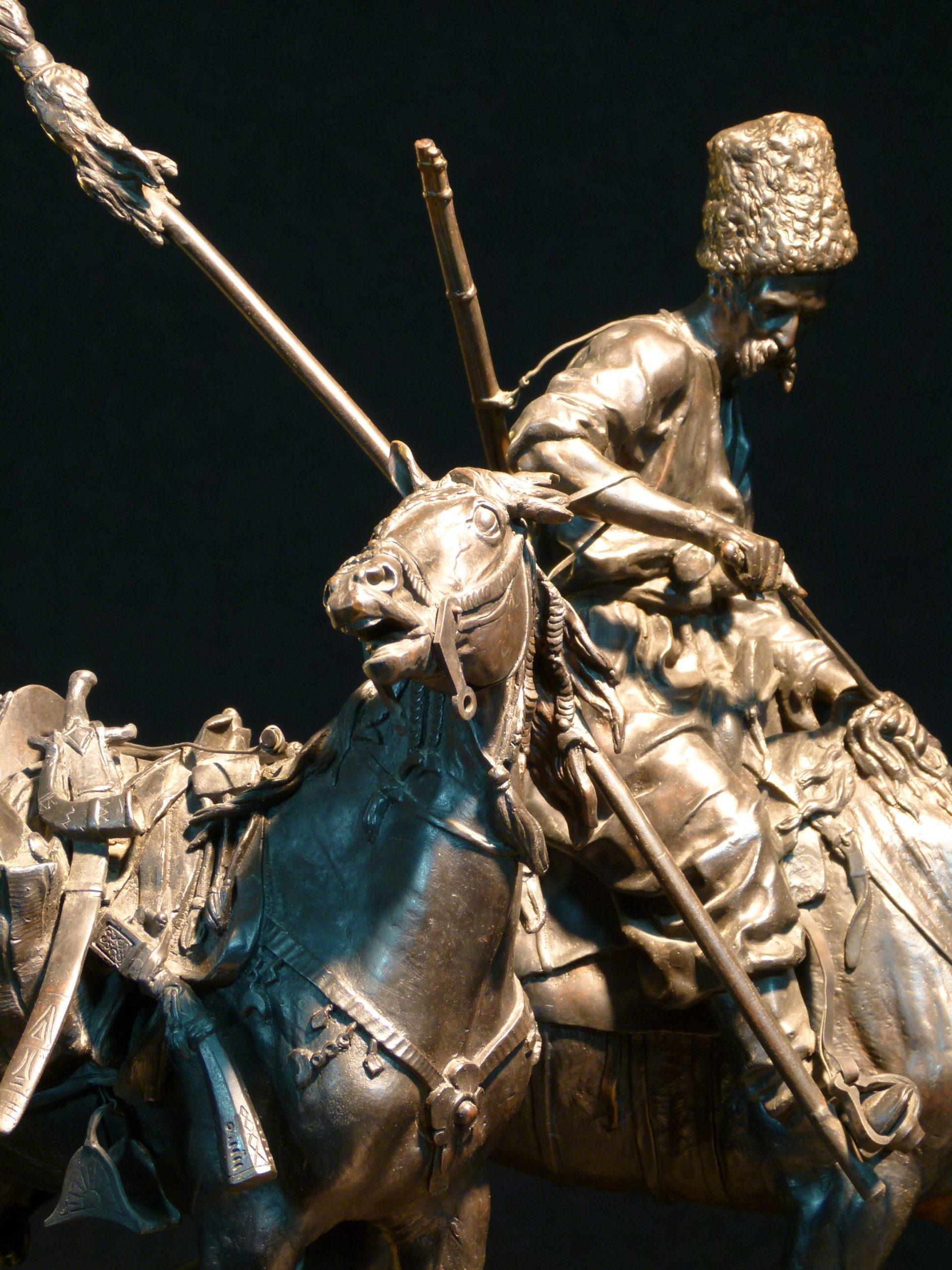 запорожский-казак-русско-турецкая-война-лансере-трофейная-лошадь-штанге