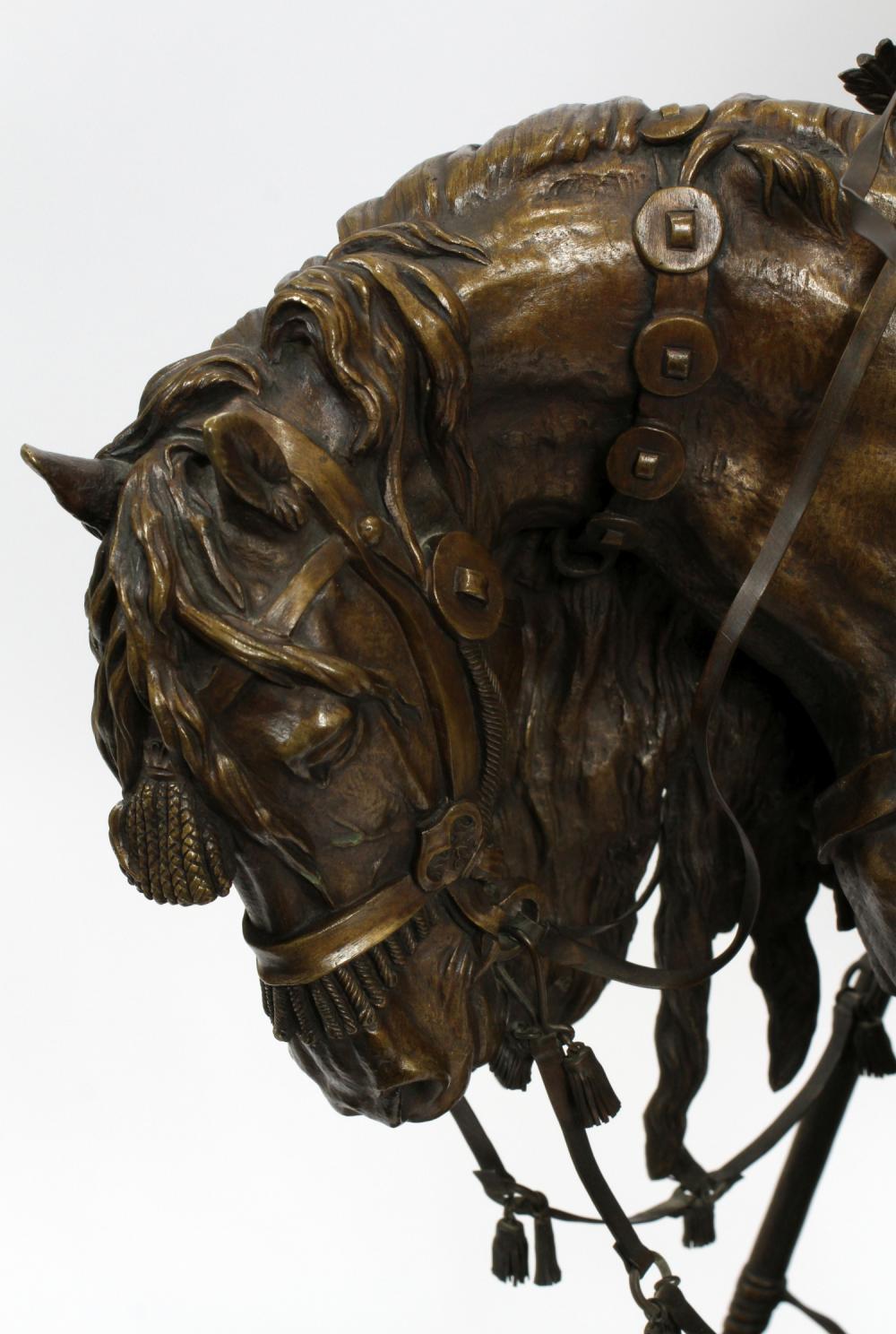 cossack - -богатырь-бронза-лансере