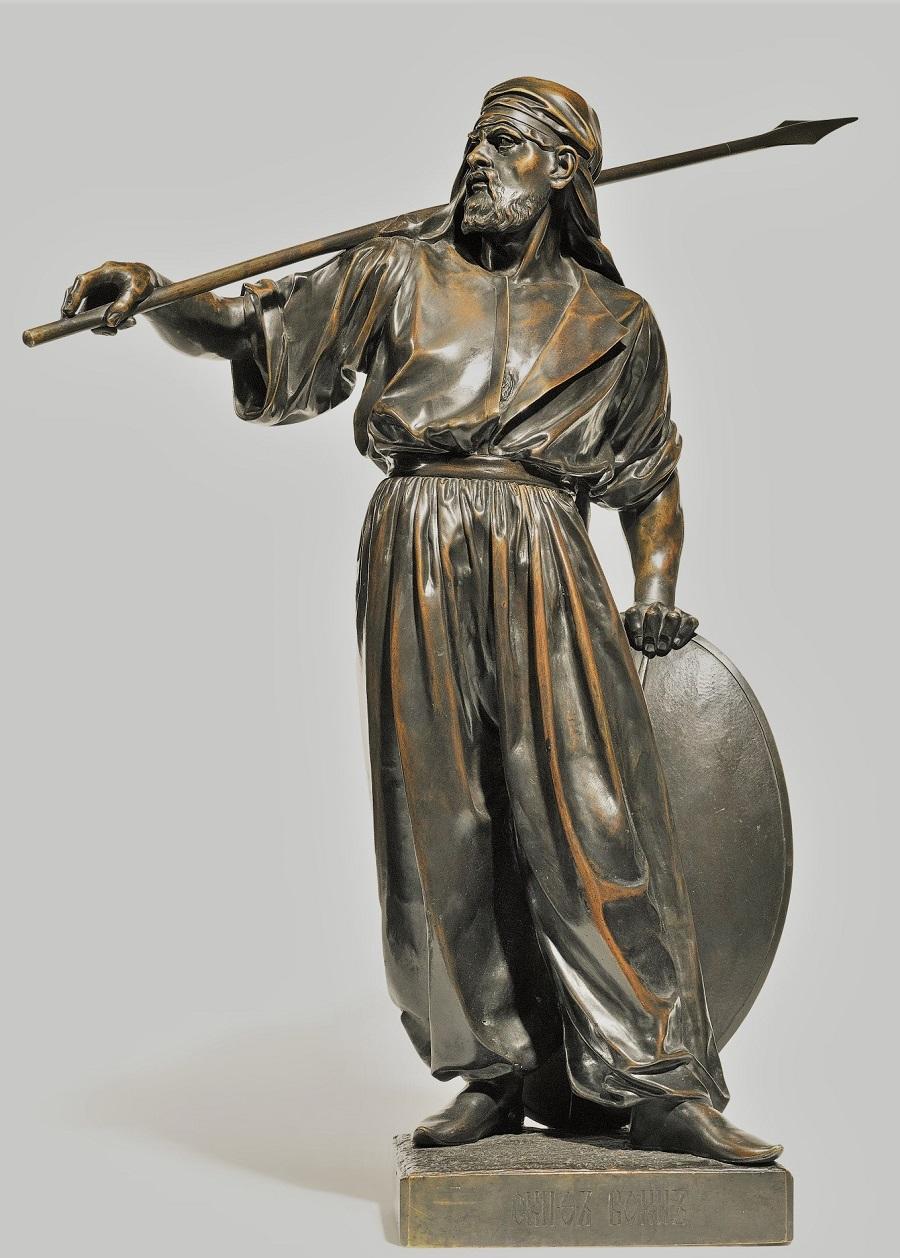 ivan-fedor-kovshenkov - Kovshenkov-bronze-scyphian-soldier-statue