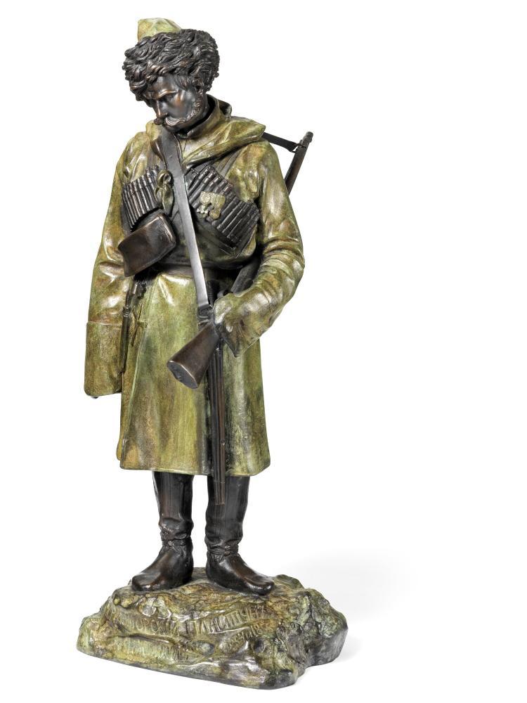 ivan-fedor-kovshenkov - plastun-chernomorsky-bronze-soldier