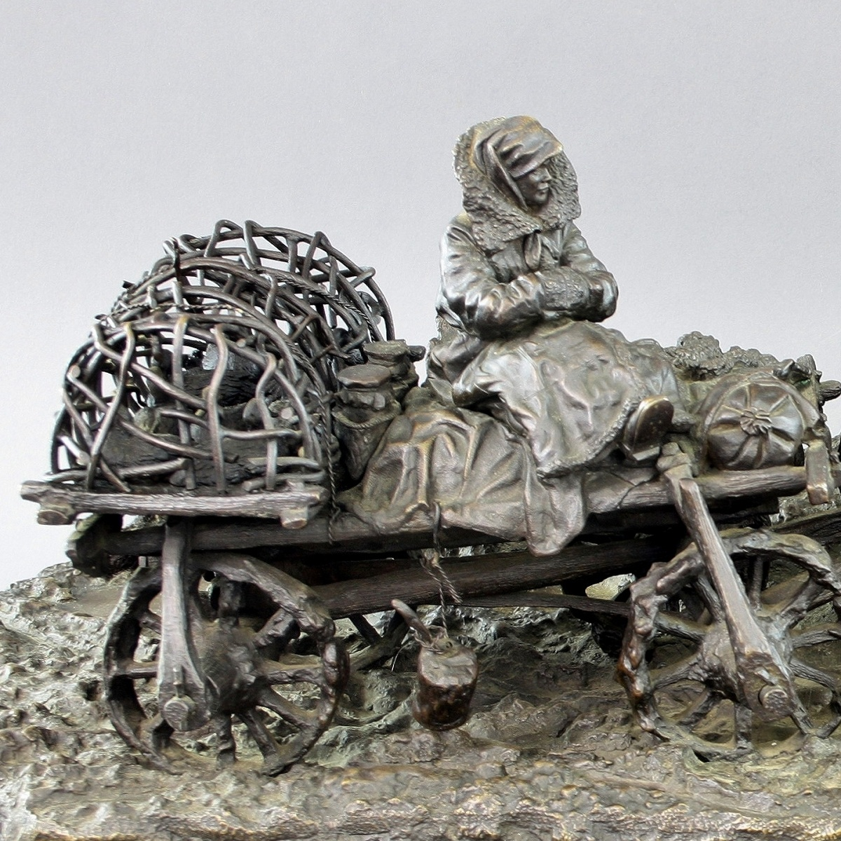 leonid-pozen-posen-posene - Leonid-Posen-Posene-Bull-cart_Russian-peasants-with-chicken-1-1200