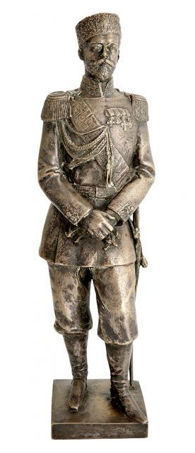 leopold-bernstamm - Leipold-Bernstamm-Nicolas-Nikolai-Russian-tsar-bronze