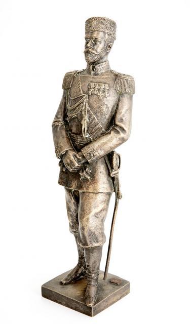 leopold-bernstamm - leopld_bernstamm-russiian-tsar-bronze-statue
