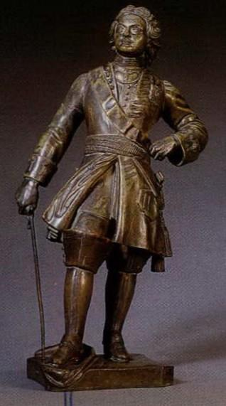 napoleon-jacques - Peter-First-Russian-statue-jacques-bronze