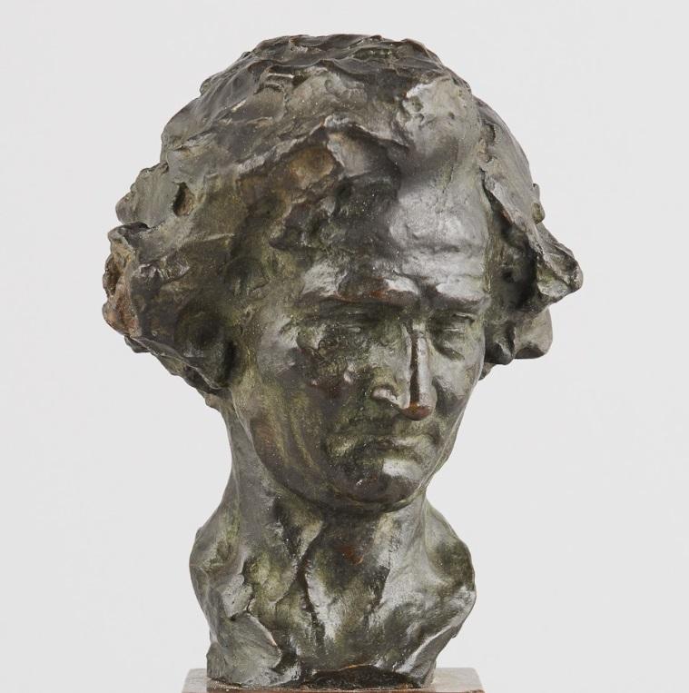 naum-aronson - Hector-Belioz-bust-aronson-bronze
