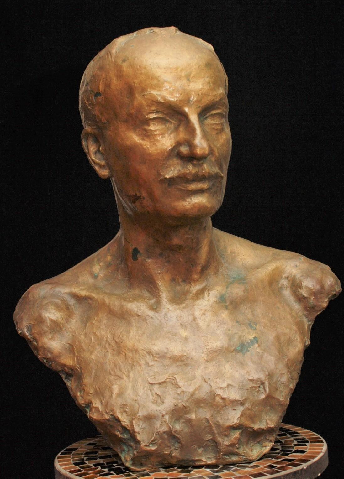 naum-aronson - Naum-naoum-Aronzon_Panin-bronze-bust-russian