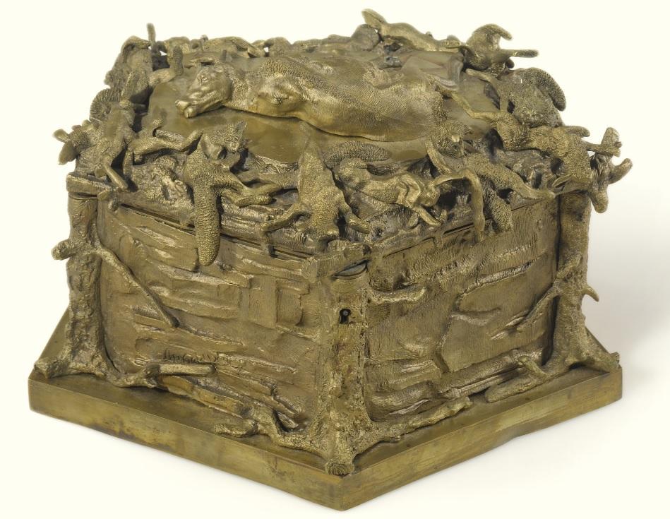 nikolay-ivanovivh-leiberich - casket-bronze-lieberich-nikolay-ivanovich-russian-sculptor-