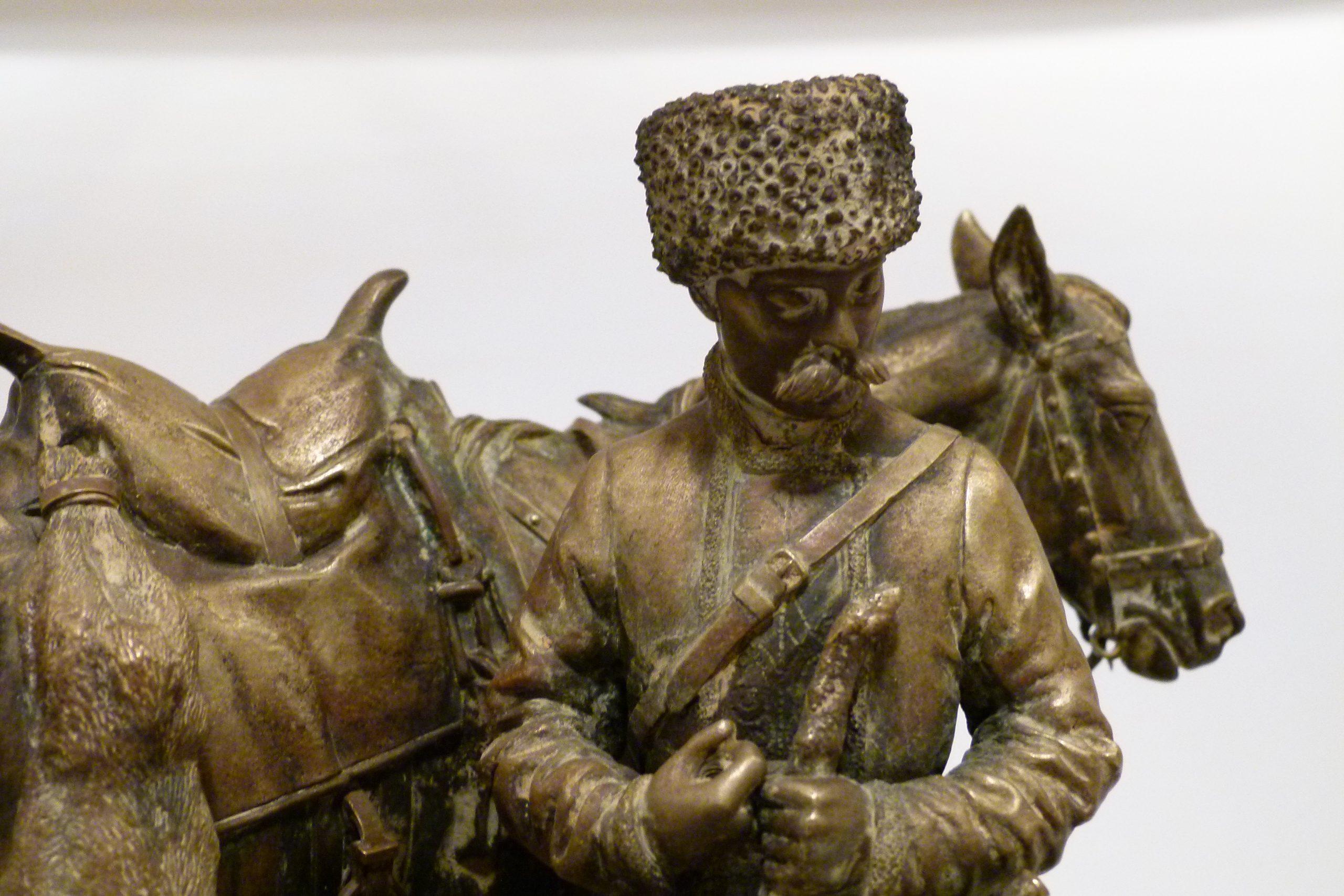 nikolay-ivanovivh-leiberich - lieberich-hare-hunting-cossack-horse