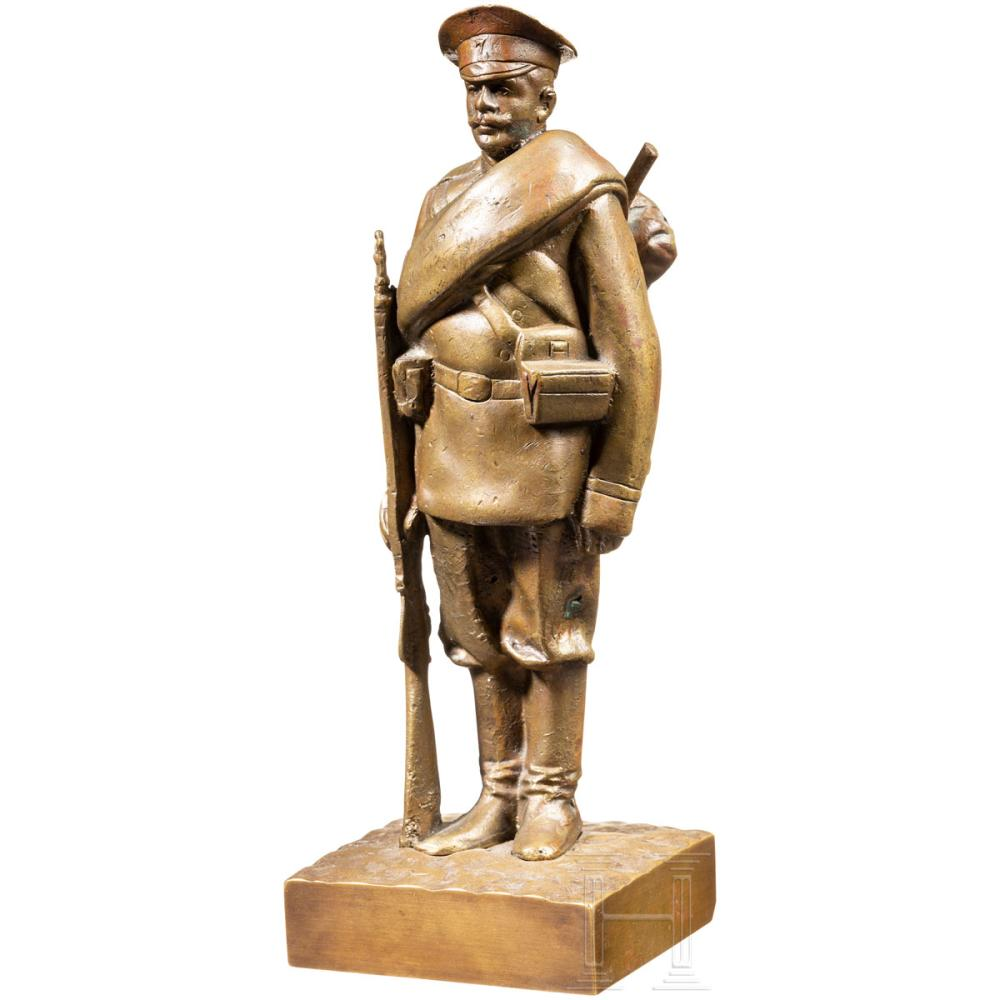 nikolay-shleifer - russian-soldier_bronze-shleifer-statue