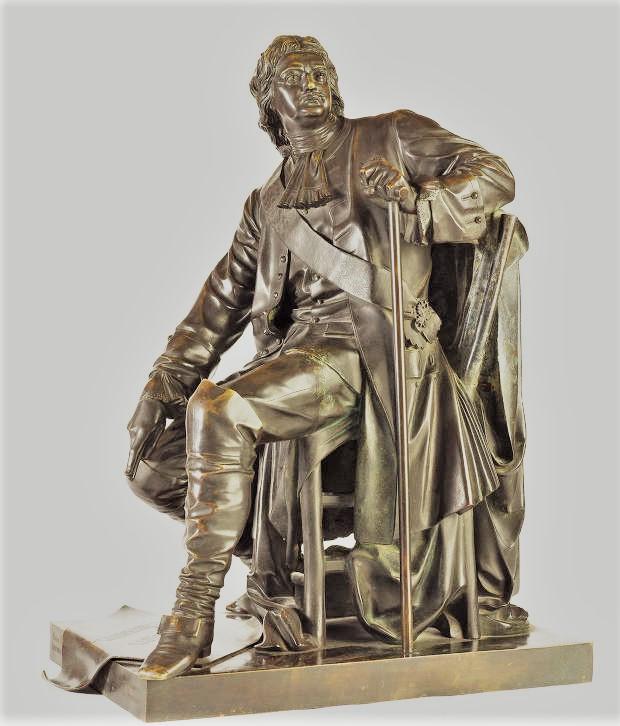 opekushin-alexander - Peter-Alexeevich_Opekushin-bronze-statue