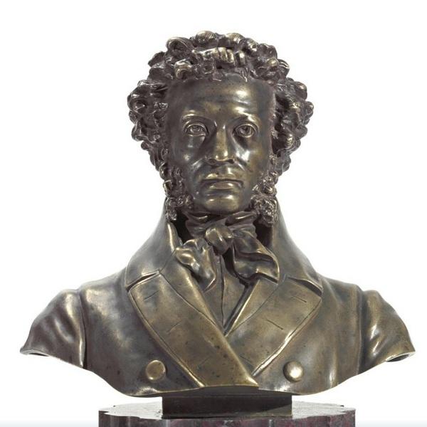 opekushin-alexander - Pushkin-bronze-bust-Opekushin-2