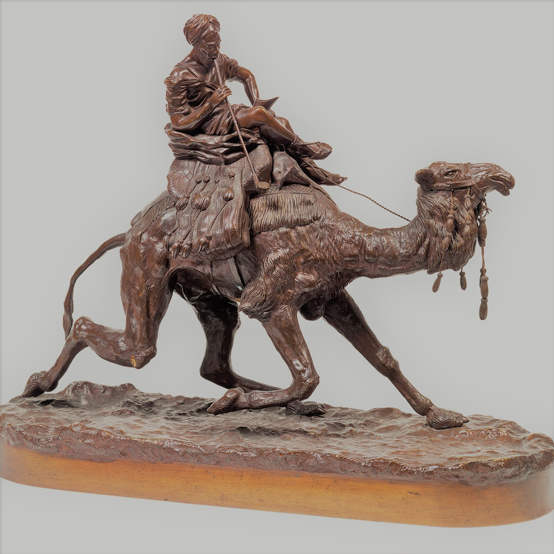 samonov-samonoff - -Самоновъ-бронза-араб-на-верблюде