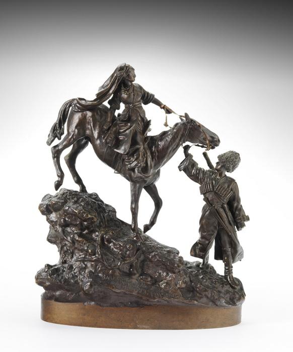 A downhill ride of a Caucasians - bronze V.Grachev Russian